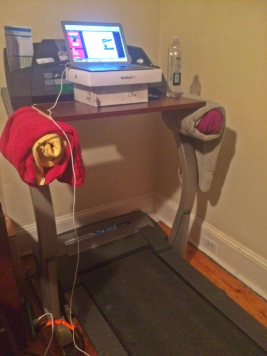 Three Steps to Make Your Own Treadmill Desk